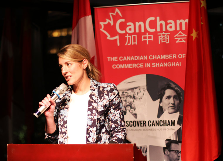 Cancham event in Shanghai