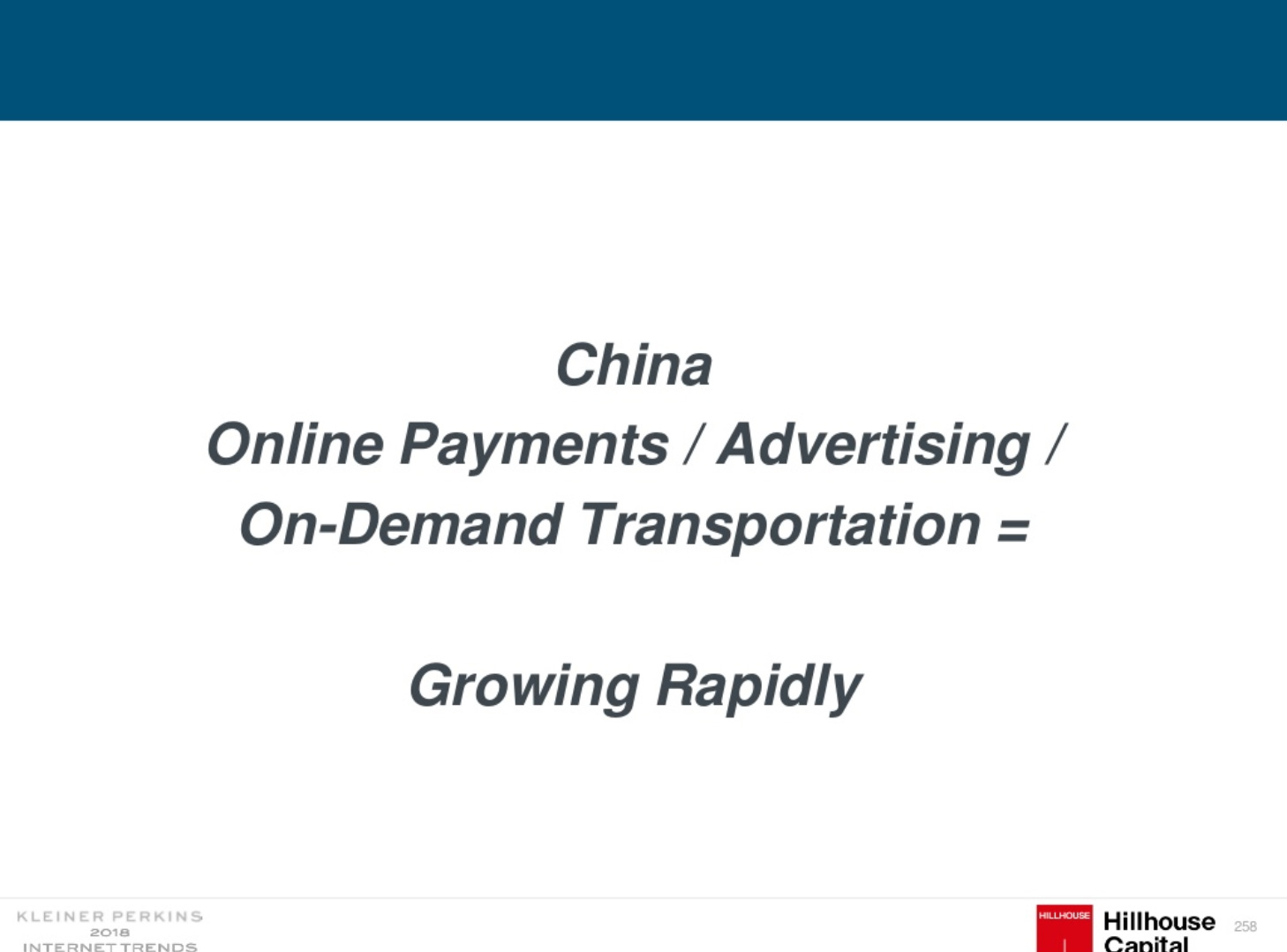 Online payments in China is growing rapidly in 2018