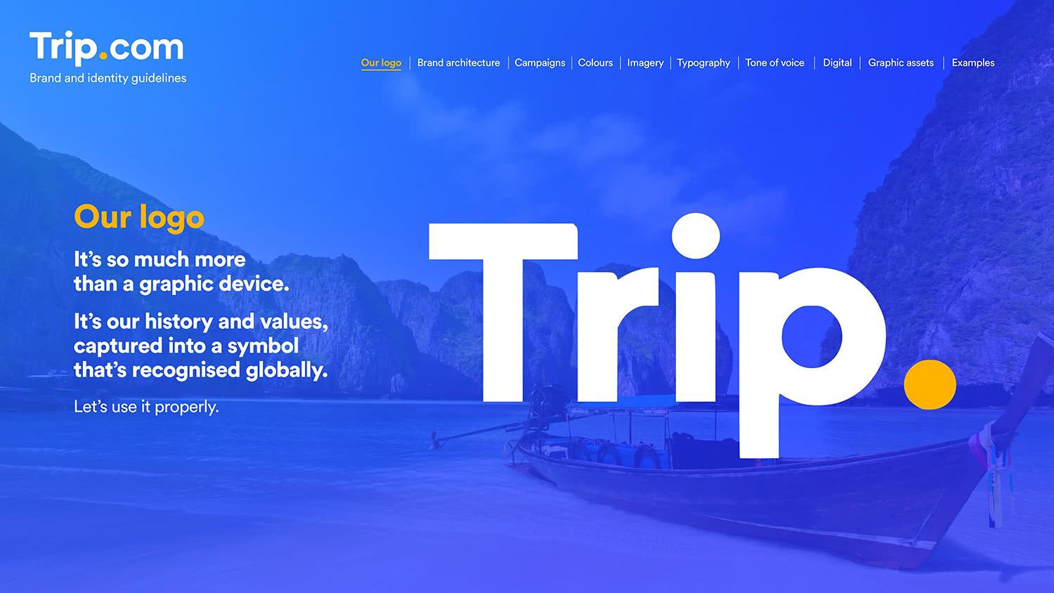 Proposed Updated version of Trip.com logo